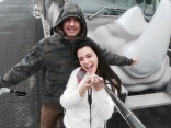Our Safari van was a Rhino!!